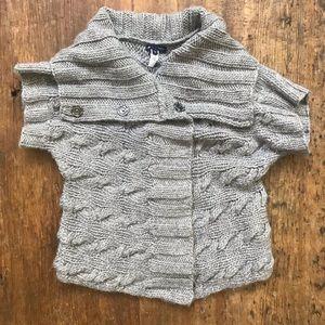 Gap wool snap sweater.